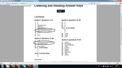 Space Reading Answers Mini Ielts