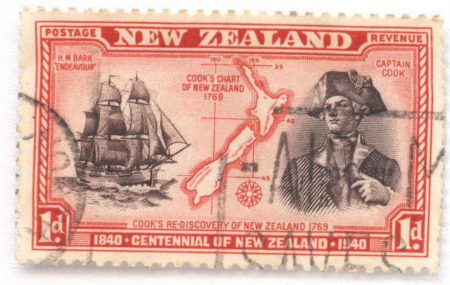 New Zealand Postage Stamp