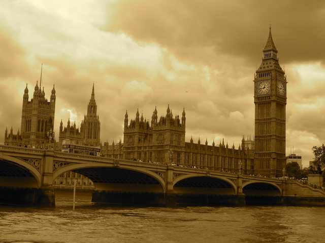 London - Houses of Parliament and Big Ben